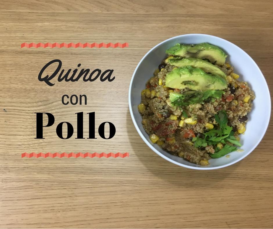 Quinoa con pollo for Cocinar quinoa con pollo